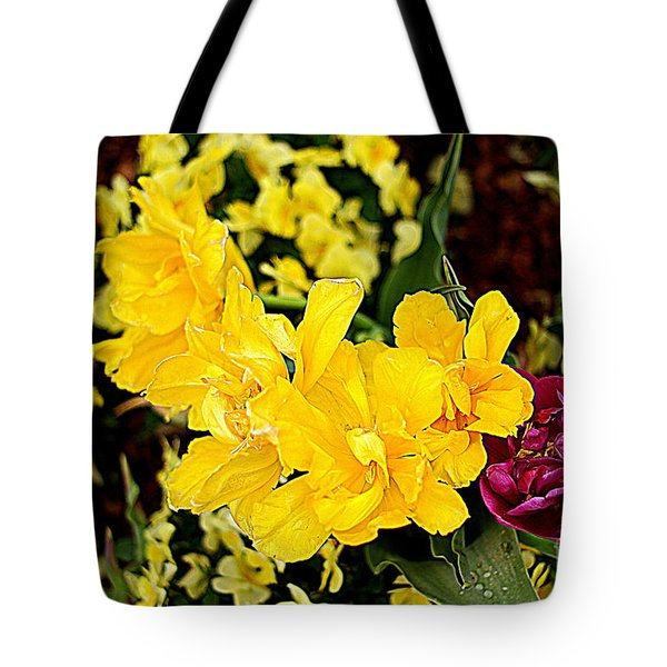Tote Bag featuring the photograph Spring In Dallas by Diana Mary Sharpton