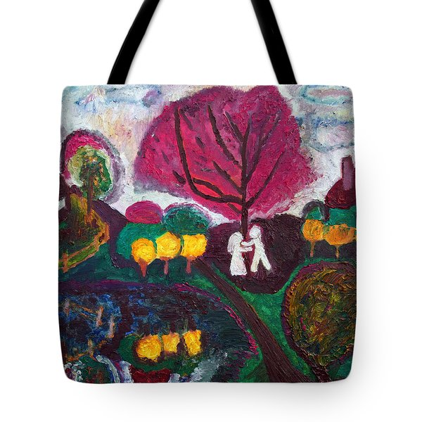 New Jersey Spring Tote Bag by Vadim Levin