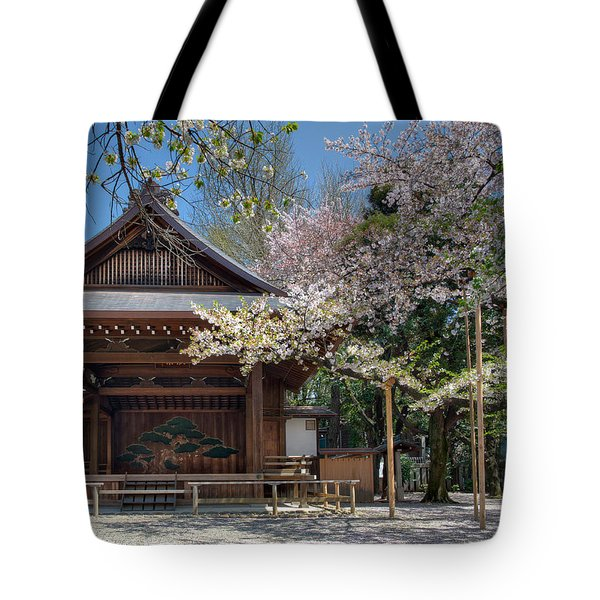 Spring In Edo Tote Bag