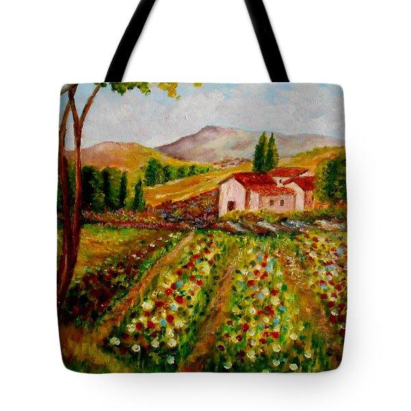 Spring In France Tote Bag