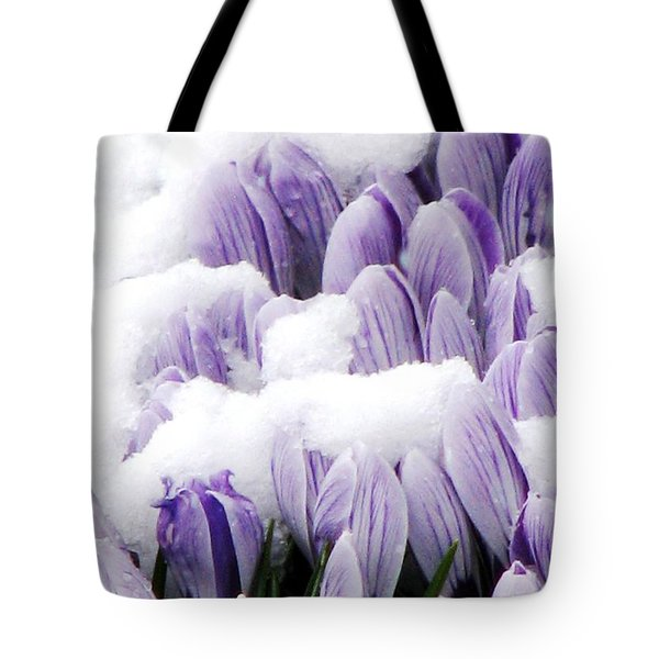 Spring In Hiding Tote Bag by Angela Davies