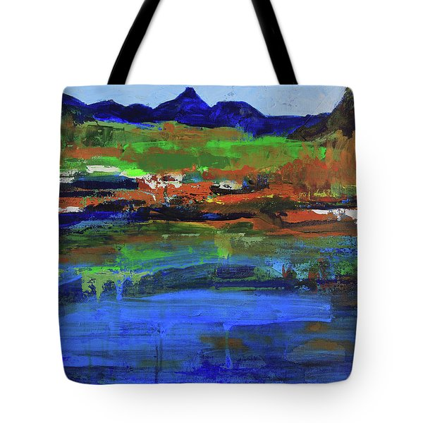 Spring In High Country Tote Bag