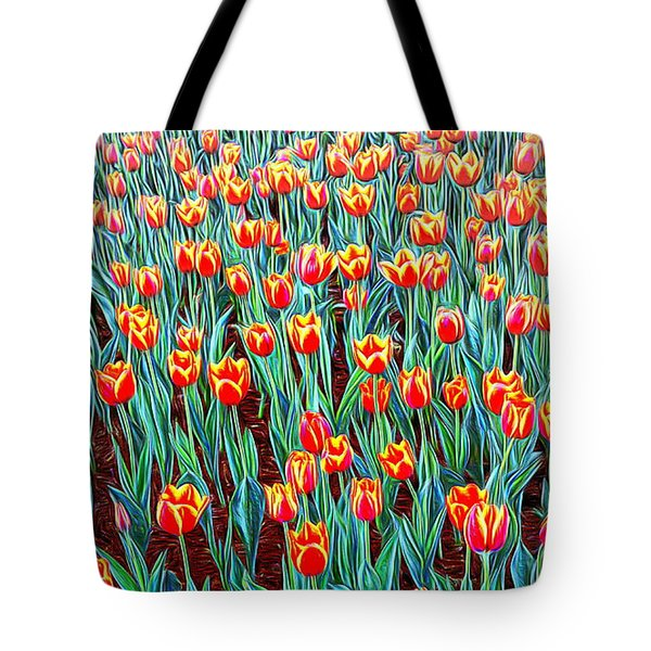 Spring In Holland Tote Bag by Ian Gledhill