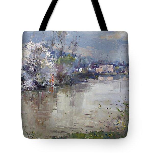 Spring In Hyde Park Tote Bag