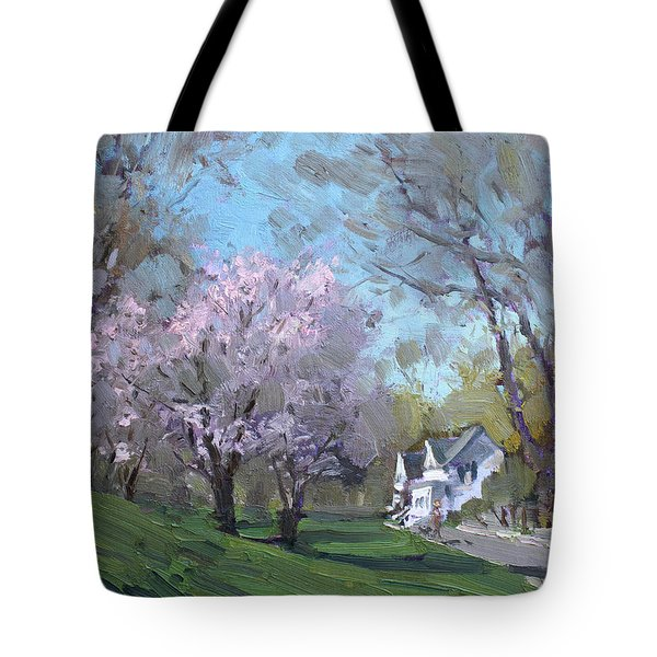 Spring In J C Saddington Park Tote Bag