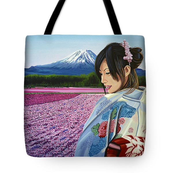 Spring In Japan Tote Bag