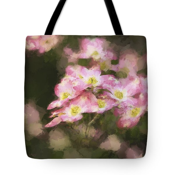 Spring In Pink Tote Bag