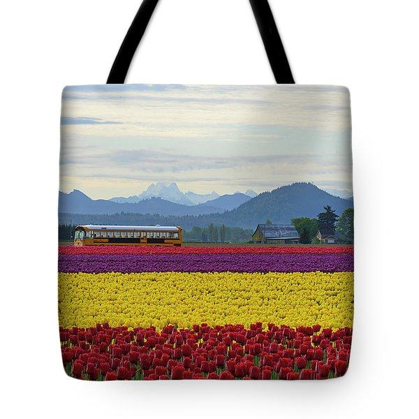 Spring In Skagit Valley Tote Bag