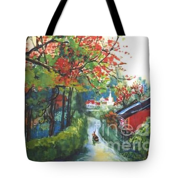 Spring In Southern China Tote Bag by Guanyu Shi