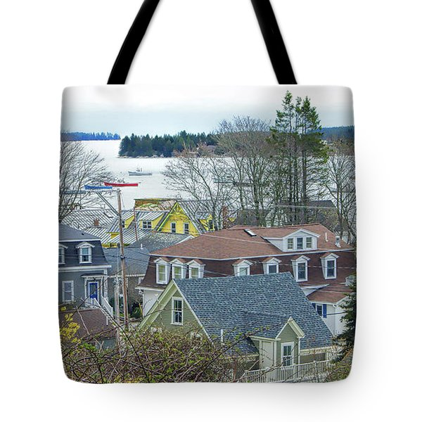 Spring In Maine, Stonington Tote Bag