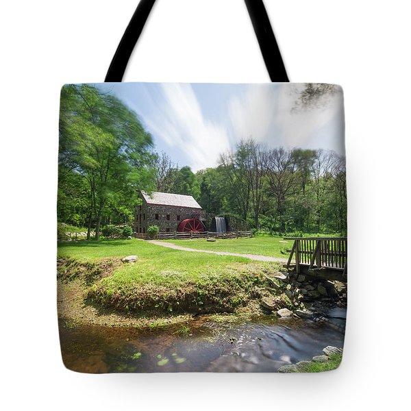 Spring In Sudbury Tote Bag