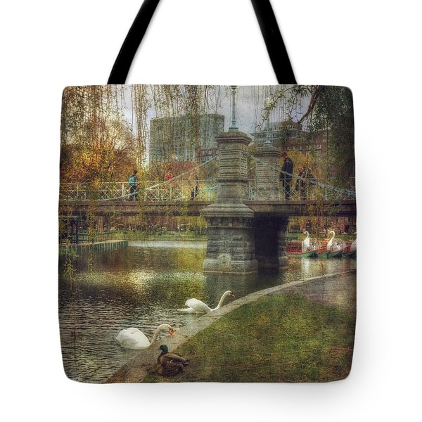 Spring In The Boston Public Garden Tote Bag