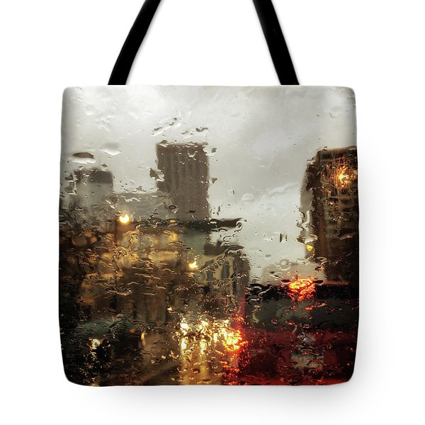 Spring In The City Tote Bag