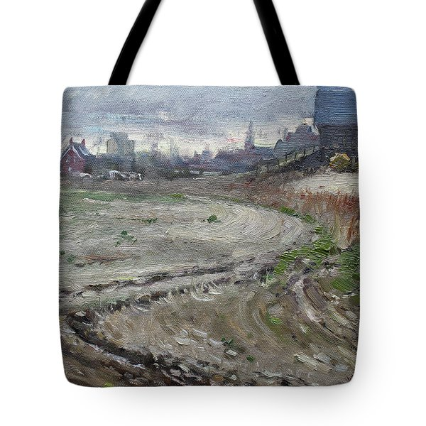 Spring In The Farm Tote Bag