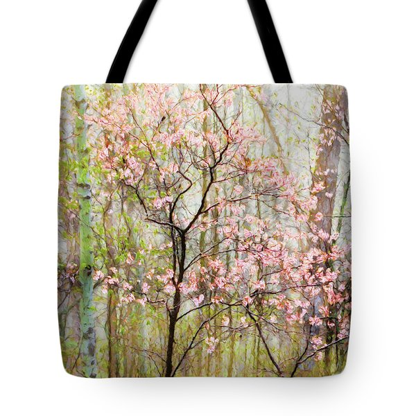 Spring In The Forest Tote Bag