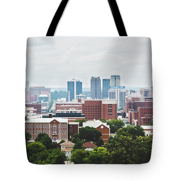 Tote Bag featuring the photograph Spring In The Magic City - Birmingham by Shelby Young