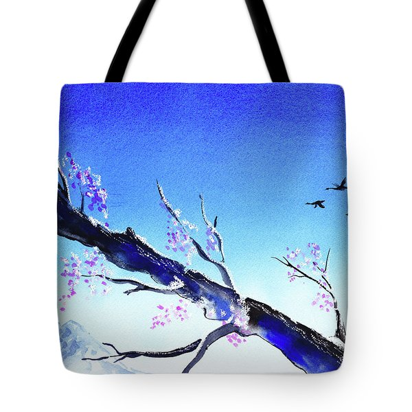 Spring In The Mountains Tote Bag