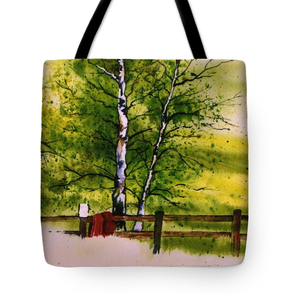 Spring In The Paddock Tote Bag