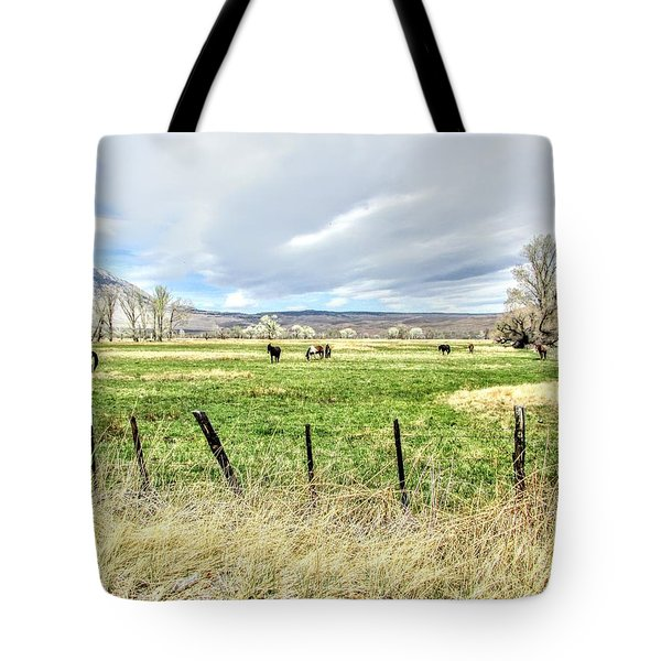 Spring In The Valley Tote Bag