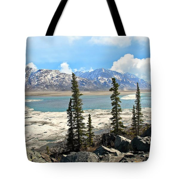 Spring In The Wrangell Mountains Tote Bag