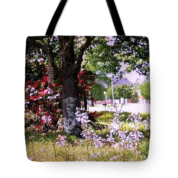 Spring In The Yard Tote Bag