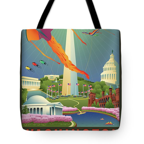 Spring In Washington D.c. Tote Bag