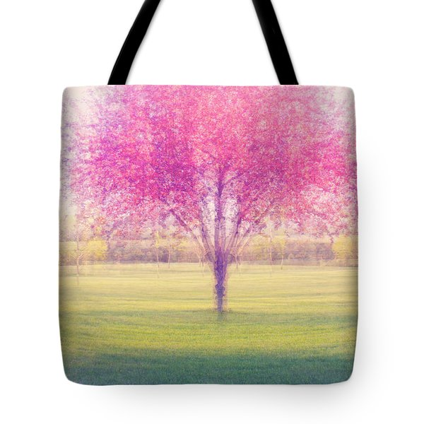 Spring Is A Blur Tote Bag