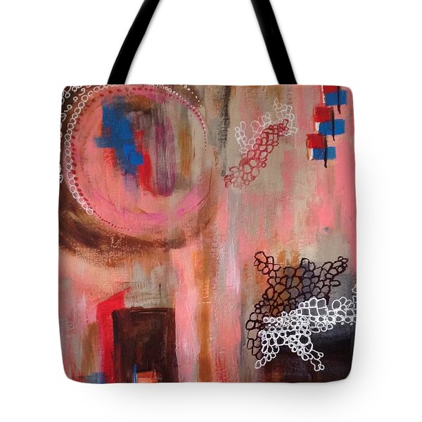 Squiggles And Wiggles # 4 Tote Bag