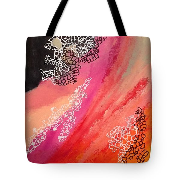 Squiggles And Wiggles #2 Tote Bag