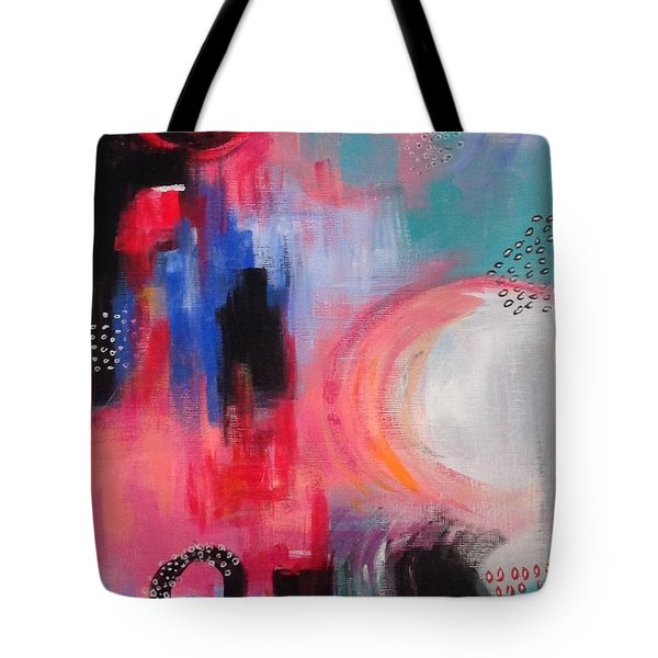 Squiggles And Wiggles #3 Tote Bag