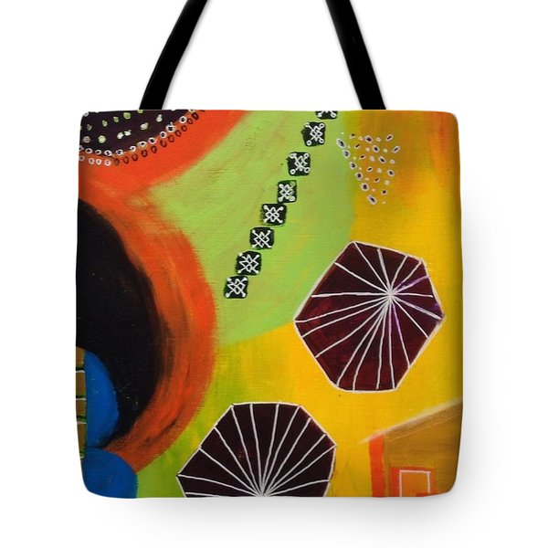 Squiggles And Wiggles #5 Tote Bag