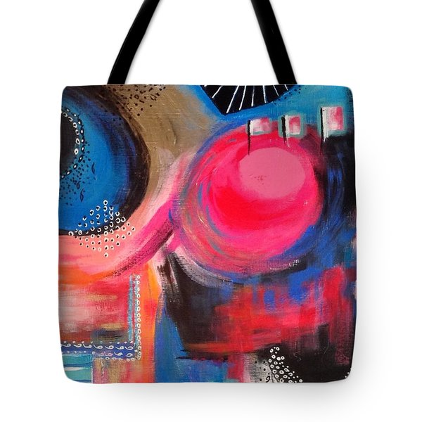 Squiggles And Wiggles #1 Tote Bag