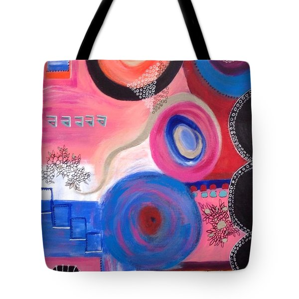 Squiggles And Wiggles  #9 Tote Bag