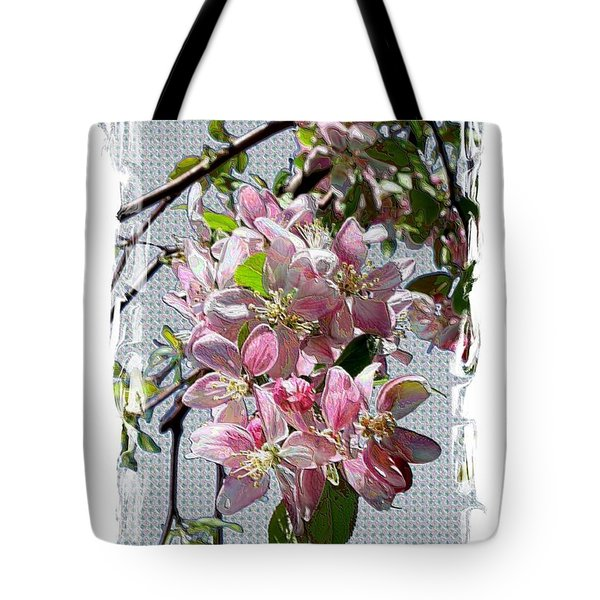 Spring Is Melting Away Tote Bag by Carol Groenen