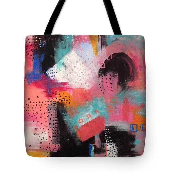 Squiggles And Wiggles  #7 Tote Bag