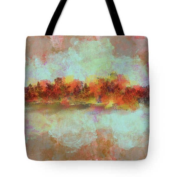 Spring Is Near Tote Bag by Jessica Wright