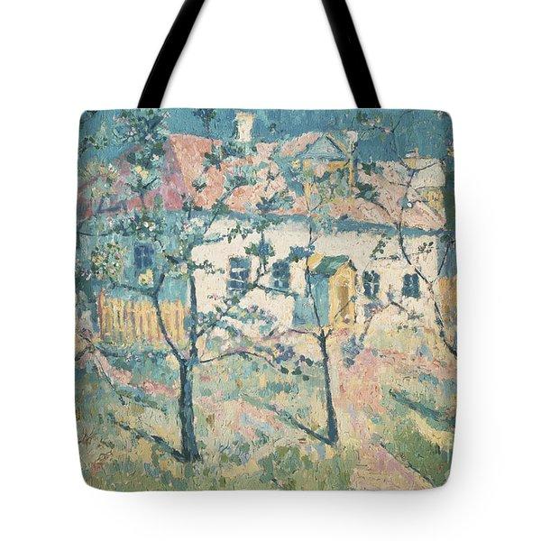 Spring Tote Bag by Kazimir Severinovich Malevich