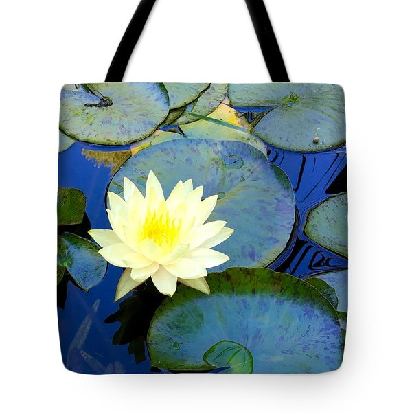 Tote Bag featuring the photograph Spring Lily by Angela Annas