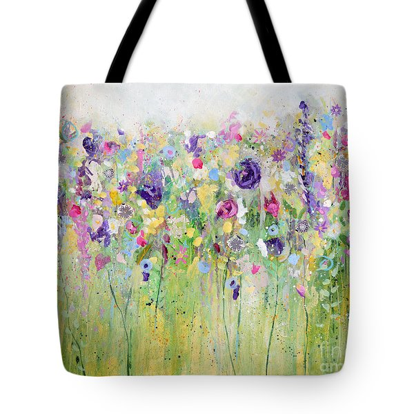 Spring Meadow I Tote Bag