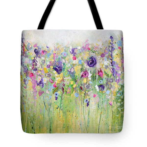 Spring Meadow II Tote Bag