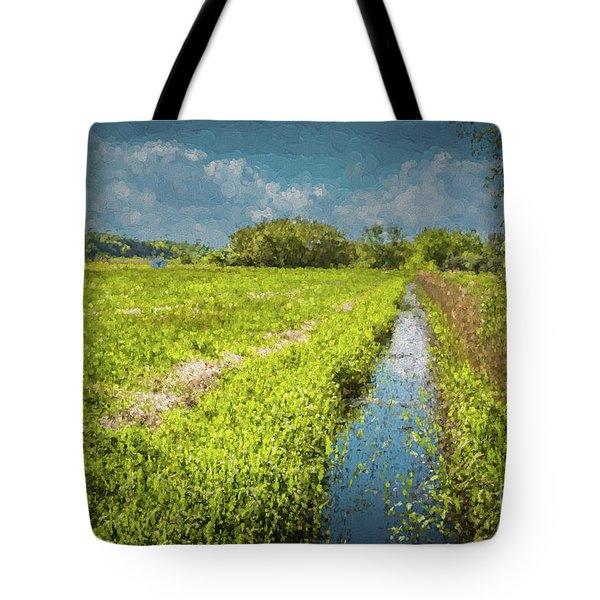 Spring Meadows Tote Bag