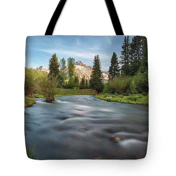 Spring Melt Tote Bag