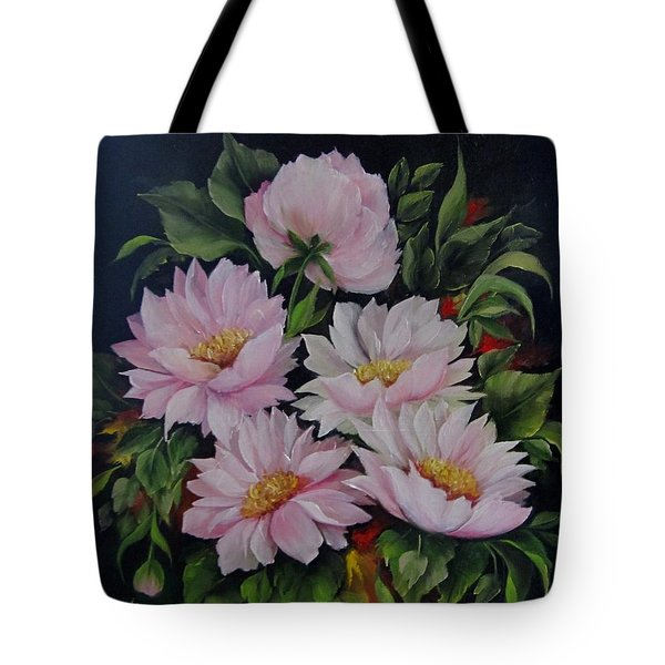 Spring Messangers Tote Bag