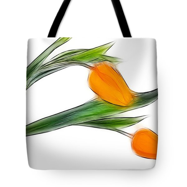 Spring Messenger Tote Bag