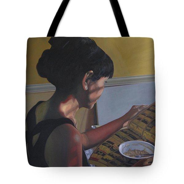Spring Morning Cabot Arkansas Tote Bag by Thu Nguyen