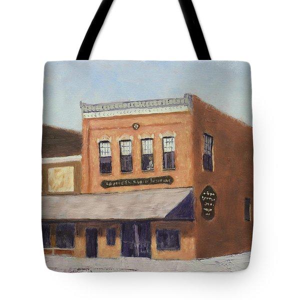 Spring Morning Downtown Tote Bag