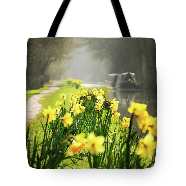 Spring Morning Tote Bag