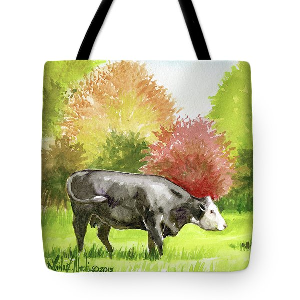 Spring Morning Graze Tote Bag