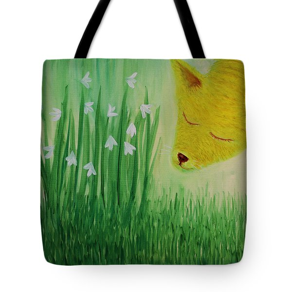 Spring Morning Tote Bag by Tone Aanderaa