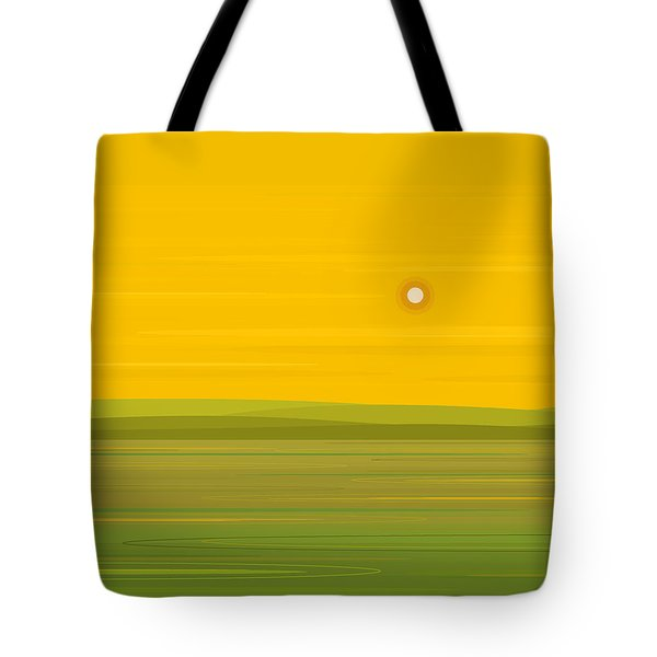 Spring Morning Tote Bag by Val Arie